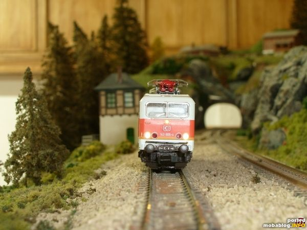 Br 143 S-bahn mit sunny weiss Leds